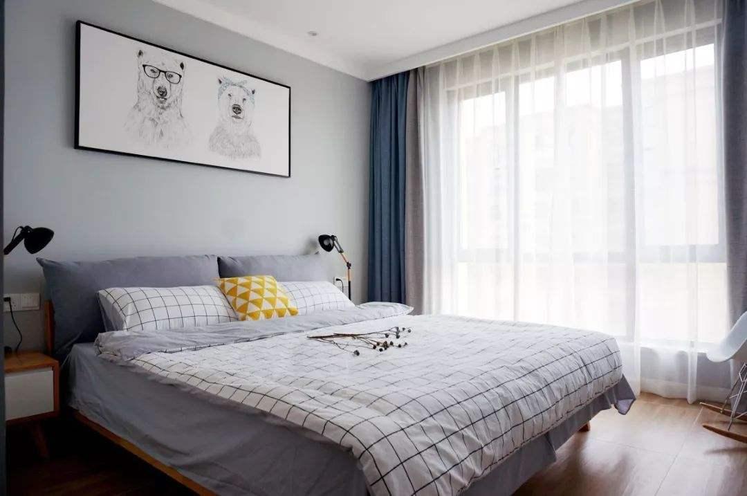 卧室装修时乳胶漆颜色要怎么配色才好看成都装修告诉