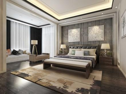 卧室背景墙的创意设计成都装饰给你舒适温馨的家
