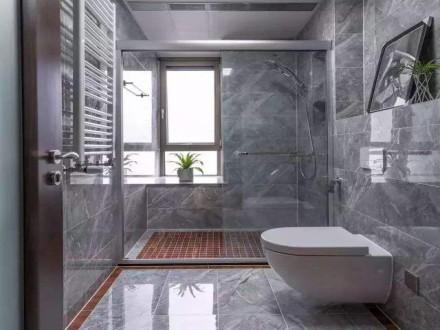 成都装修卫生间淋浴房地面别再傻傻贴瓷砖贴了有钱人家流行这样装