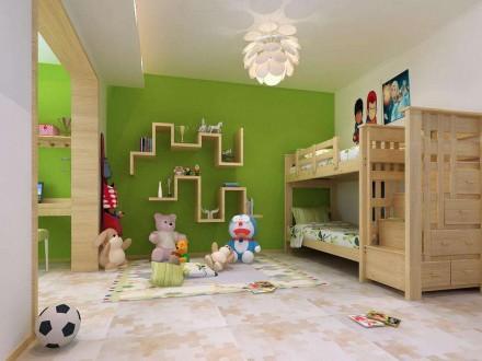 儿童房上下床,小户型的不二选择