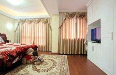 卧室窗帘选购技巧效果图片 卧室窗帘选购注意事项-家和装饰