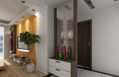 玻璃玄关隔断设计技巧 玻璃玄关隔断设计要点-家和装饰
