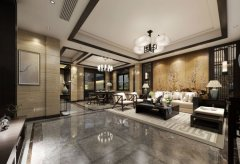 新中式客厅装修效果图片 新中式客厅装修方法-家和装饰