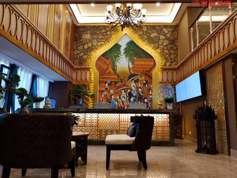 成都如泰酒店——家和装饰公装案例