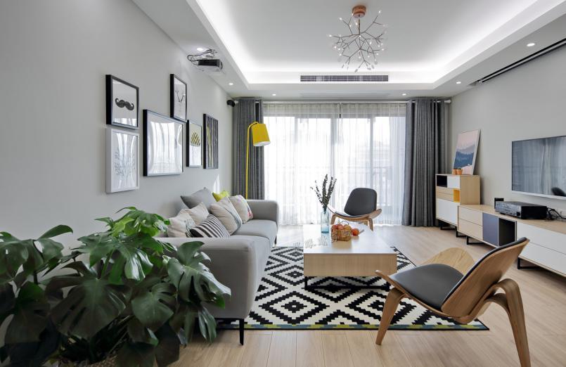 81㎡北欧风二居室装修仅花8万,一个属于我们的秘密空间!