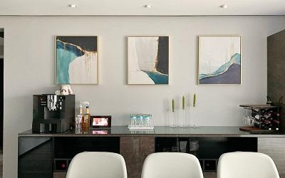 220㎡的三代同堂也爱现代简约风,合理收纳、智能家居、完美开阔空间!