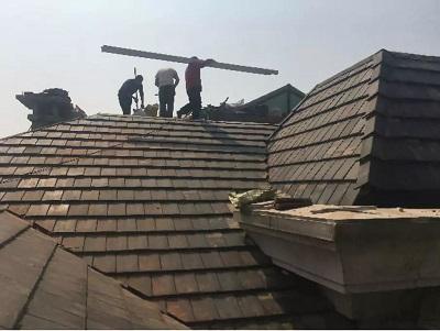 别墅房屋的屋顶防水处理_家和装饰_影响成都的装修公司