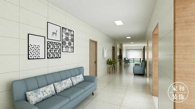 社区医院装修|440㎡社区卫生服务中心改造翻新,服务升级!