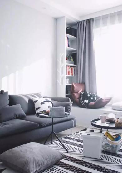 飘窗别乱改造,学学这几种优秀设计,家里也能成网红打卡地